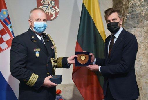Akredituotas naujas Kroatijos gynybos atašė Lietuvai