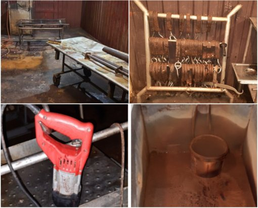 Lazdijų rajone sustabdyta skerdyklos veikla: dirbo antisanitarinėmis sąlygomis