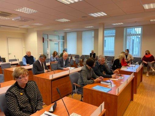 Įvyko Ukmergės rajono įmonių ir įstaigų vadovų pasitarimas