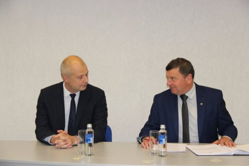 Savivaldybėje lankėsi aplinkos ministras Simonas Gentvilas