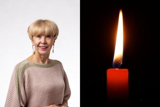 Mirė ilgametė Šilalės rajono mokytoja, politikė ir visuomenininkė Vera Macienė