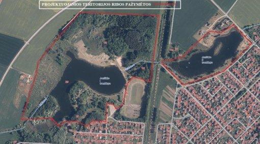 Pradedami teritorijos prie Joniškio miesto I ir II tvenkinių projektavimo darbai