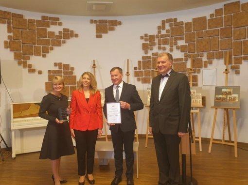 Birštono vienkiemio bendruomenės įvertinimų skrynioje – I vietos apdovanojimas