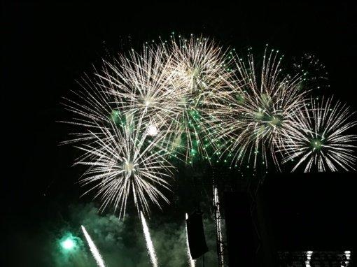Žaliųjų partija sostinės savivaldybės deklaraciją dėl fejerverkų laiko deklaratyvia: ar įvertins fejerverkų festivalio žalą