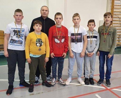 Imtynininkai padovanojo net 6 medalius