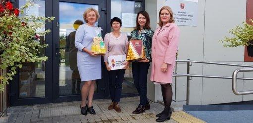 Su profesine švente pasveikinti Vilniaus rajono socialiniai darbuotojai