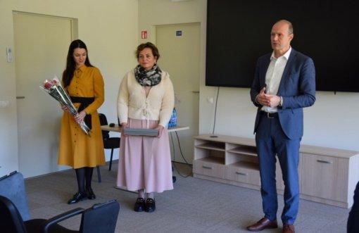 Su profesine švente pasveikinti Vilkaviškio rajono socialiniai darbuotojai