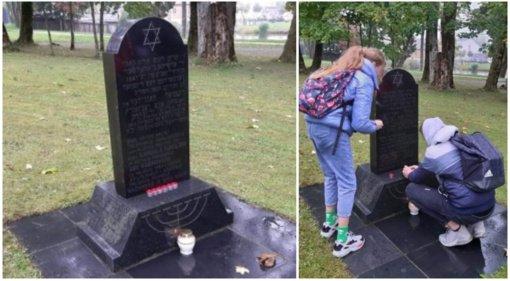 Rietave pagerbtas Holokausto aukų atminimas