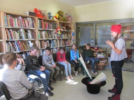 Biblioteka plačiai atveria duris ypatingiems lankytojams