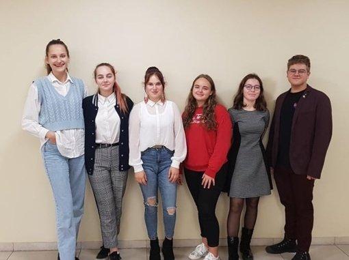 Išrinkti Švenčionių rajono Jaunimo reikalų tarybos jaunimo atstovai