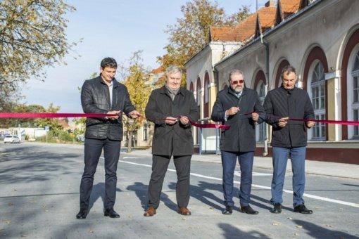 Oficialiai atidaryta Elektros gatvė
