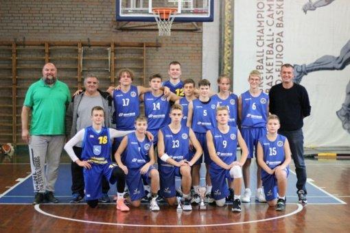 Visagino krepšinio komanda dalyvaus Mažų miestelių krepšinio lygoje