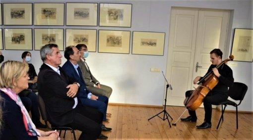 Atidaryta Lietuvos ir Lenkijos dailininko Stanislovo Bohušo Sestšencevičiaus darbų paroda