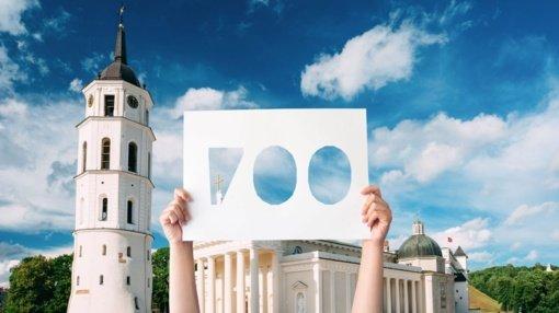 Vilniaus 700-ojo jubiliejaus šventiniai akcentai planuojami 2023-iųjų sausį ir liepą