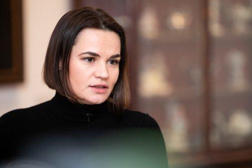 S. Cichanouskaja: A. Lukašenka gali rizikuoti Baltarusijos nepriklausomybe