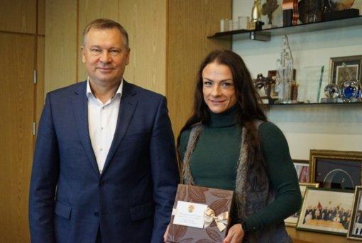 Kultūrizmo čempionė kuria verslą Alytaus rajone