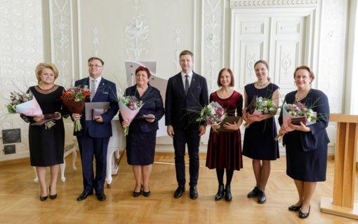 Įteikti svarbiausi Kultūros ministerijos apdovanojimai