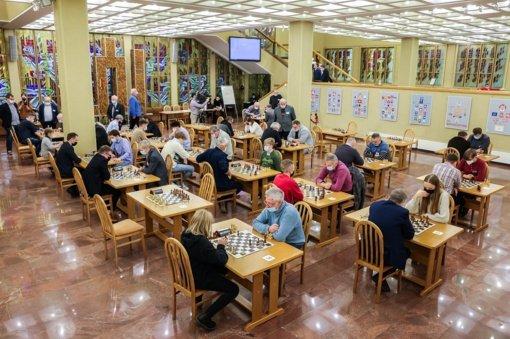 Šachmatininkai varžėsi dėl Seimo taurės