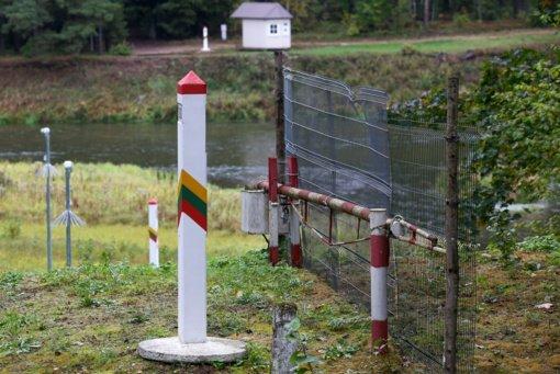 Į Lietuvą iš Baltarusijos neteisėtai patekti neleista pusšimčiui migrantų