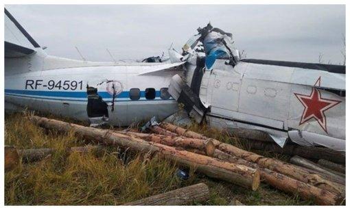 Rusijoje sudužus lėktuvui, kuriuo skrido parašiutininkų grupė, žuvo 16 žmonių (PAPILDYTA)