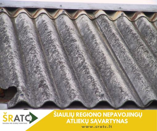 Asbesto turinčių atliekų pristatymo į atliekų sąvartyną tvarka