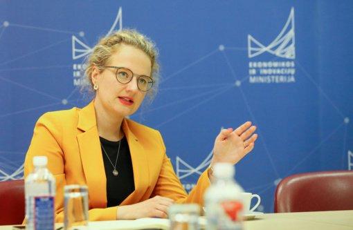 A. Armonaitė Akmenėje aptars planuojamą laisvosios ekonominės zonos plėtrą