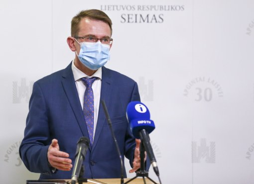 A. Dulkys atsakė G. Nausėdai: atsakomybę už pandemijos valdymą prisiimu