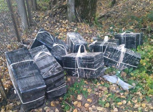 Kaune pasieniečiai su įkalčiais sučiupo du baltarusių kontrabandininkus