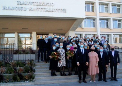 Radviliškio rajono savivaldybėje paminėta Vietos savivaldos diena