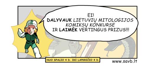 Lietuvių mitologijos komiksų konkursas
