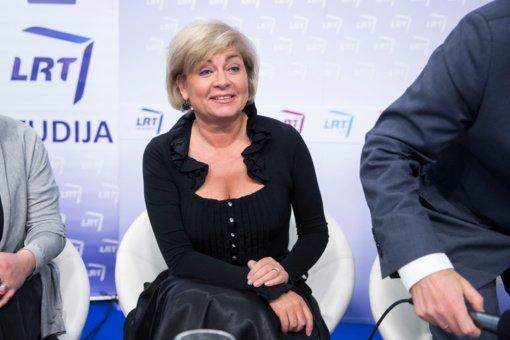 LRT tęs bendradarbiavimą su neblaivia prie vairo sulaikyta E. Mildažyte