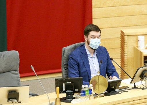 Seimo vicepirmininkas V. Mitalas: įvardinkite tą žmogų, kuris galėtų pakeisti A. Dulkį