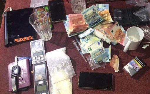 Pas virtinę įvairių nusikaltimų padariusius kauniečius rasta amfetamino