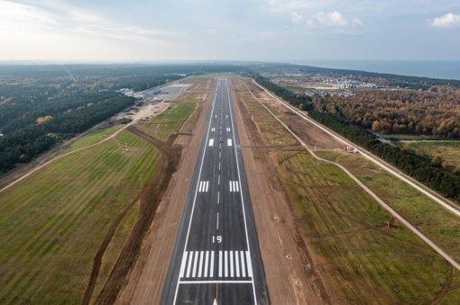 Modernizuotas Palangos oro uostas bus atidarytas kitą savaitę