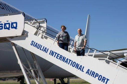 Šiaulių oro uostas lieka tarptautinių skrydžių žemėlapyje