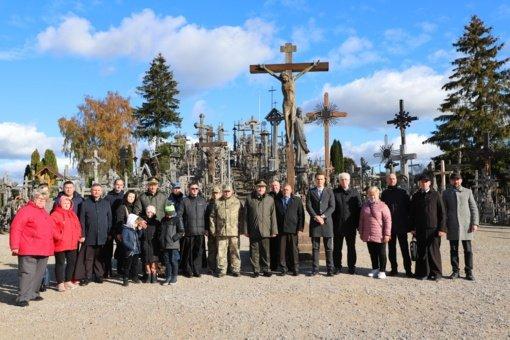 Kryžių kalne paminėta Ukrainos gynėjo diena