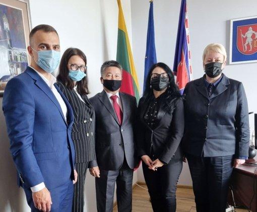 Trakuose lankėsi Mongolijos ambasadorius