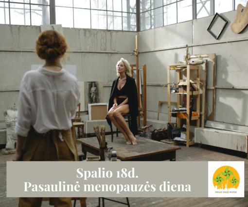 Spalio 18 – Pasaulinė menopauzės diena