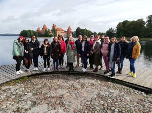 """Erasmus+ projekto """"Butterfly Effect to Maths with Stem"""" susitikimas Lietuvoje"""