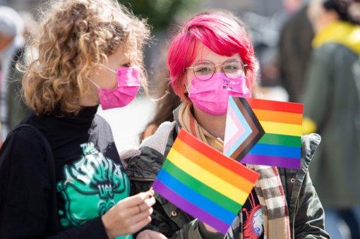 Tyrimas: tos pačios lyties poros siekia įteisinti savo santykius, patiria nelygybę