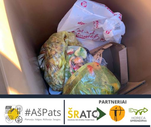 Šiaulių miesto gyventojai pirmieji regione pradėjo rūšiuoti maisto atliekas