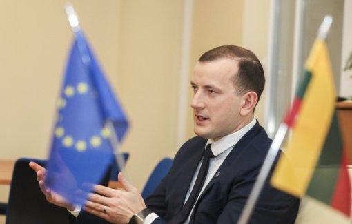 Lietuvoje lankysis Europos Komisijos narys V. Sinkevičius