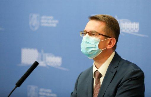 A. Dulkys aptars COVID-19 situaciją su sveikatos įstaigų vadovais