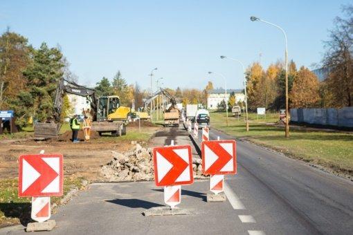 Prasidėjo Elektronikos gatvės rekonstrukcijos darbai