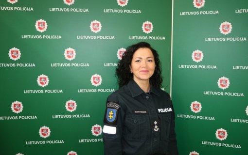 Pristatyta naujoji Telšių rajono policijos komisariato viršininkė Aurelija Kontrimienė