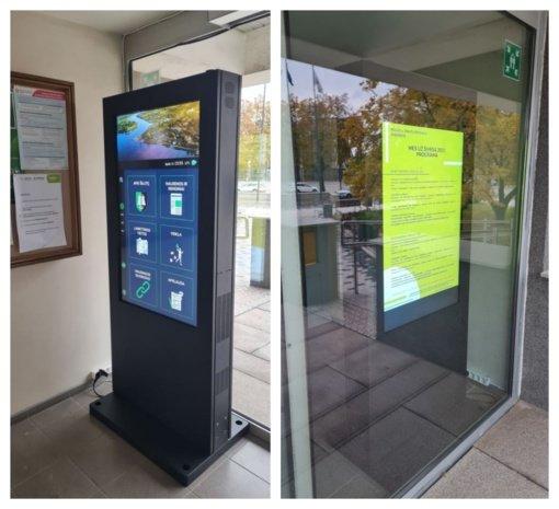 Savivaldybėje įrengtas interaktyvus stendas – kokybiškesniam paslaugų teikimui