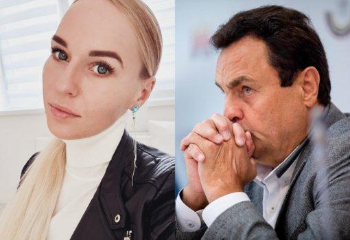 B. Navickaitė įtūžusi: apskundė P. Gražulį policijai