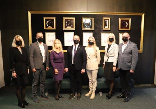 Druskininkuose – Europos SPA asociacijos generalinės sekretorės vizitas