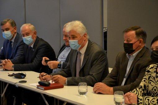 Rietave vyko Telšių regiono plėtros tarybos posėdis