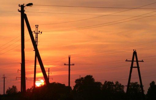 Po vėjuotos nakties elektros neturi 3 tūkst. vartotojų